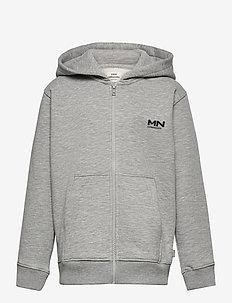 New Standard Hudini Zip - hoodies - grey melange