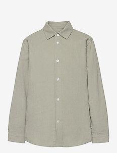 Dyed Baby Cord Svantini - overhemden - wrought iron