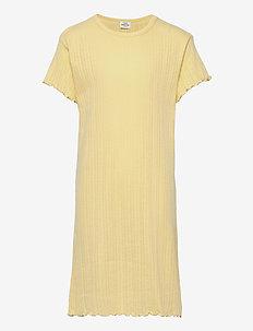 Pointella Drixina - jurken - pale banana
