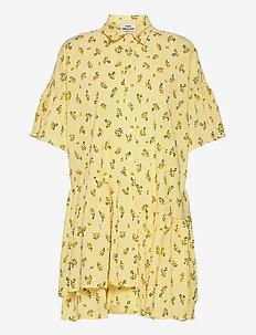 Crinkle Print Pop Darlene - sommerkjoler - sunny flower