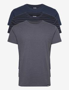 Favorite Thor 3 Pack - kortärmade t-shirts - navy/dgrey/nb midi