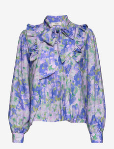 Recy Poly Bindie - langermede bluser - multi amparo blue