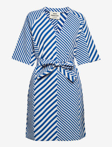 Mix Stripe Denri - hverdagskjoler - multi princess blue