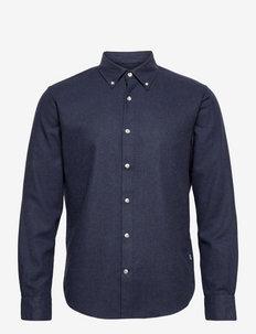 Flamel Saul - chemises décontractées - navy