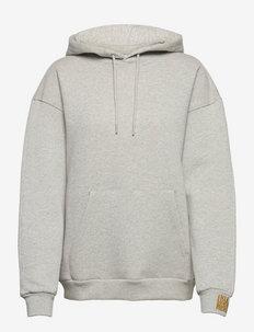 Organic Sweat Hanjie - sweatshirts & hættetrøjer - medium grey melange