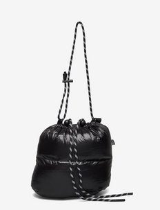 Shiny Poly Candy - tote bags - black