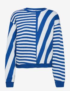 Cosy Recy Stripe Kalla - pulls - multi princess blue