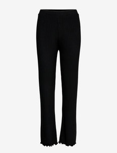 5x5 Solid Lonnie - casual bukser - black