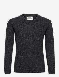 Eco Wool Karstino - trøjer - charcoal