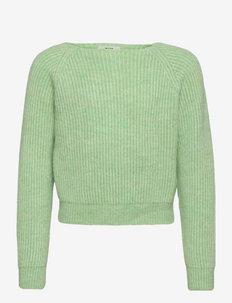 Hairy Rib Kanuni - pulls - pastel green