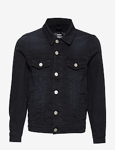 Washed Black/Black Ziggilo - denimjakker - washed black