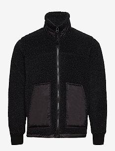 Chunky Fleece Jeff - basic-sweatshirts - charcoal melange
