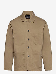 Job Twill Bass - vindjakker - khaki
