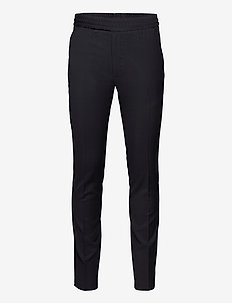 Wool Twill Petco - casual trousers - navy