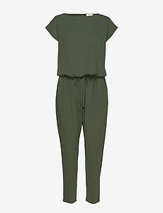 Crepe georgette Cavi - jumpsuits - army