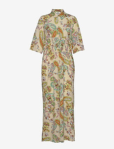 Neo Paisley Creamy - jumpsuits - paisley