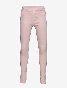Coloured Stretch Pinsa - leginsy - soft pink