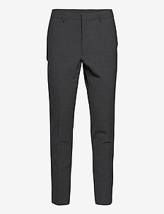 Uniform Wool Peckham - suit trousers - charcoal melange