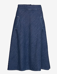 Soft Indigo Stelly Long - VINTAGE WASH