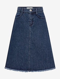 Heavy Recy Indigo Stefina - spódnice - worn dark blue