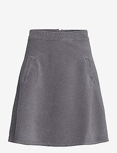 Club Cord Stelly - kort skjørt - grey