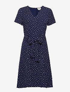 Neo Paris Degina - midi dresses - navy dot