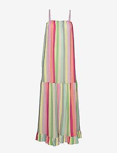 Linen Stripe Desma - midiklänningar - multi