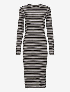 2x2 Tonal Glam Duba - midi kjoler - black/grey