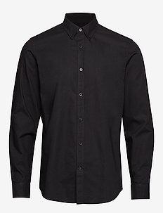 Oxford Sawsett - oxford-hemden - black
