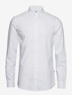 Oxford Sawsett - oxford-skjorter - white