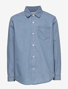 Organic Soft Svantino - skjorter - light blue
