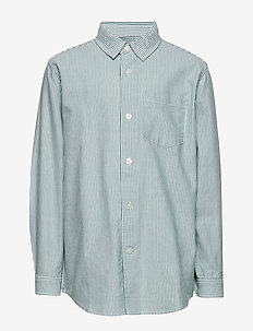 Striped Oxford Svantino - koszule - sea spray stripe