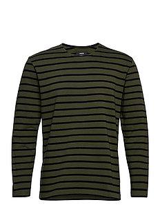Picasso Tash Long - langermede t-skjorter - forest night/black