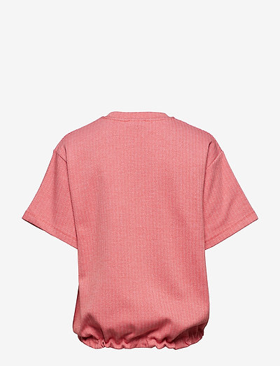 Mads Nørgaard Zigzag Jaquard Toffa- T-paidat & Topit Red/pink