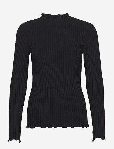 5x5 Solid Trutte - tröjor - black