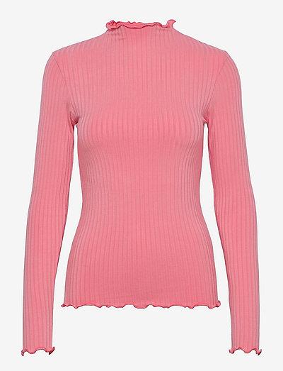 5x5 Solid Trutte - tröjor - strawberry pink