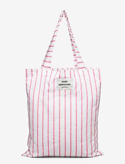 Sacky Atoma - tote bags - strawberry pink/white