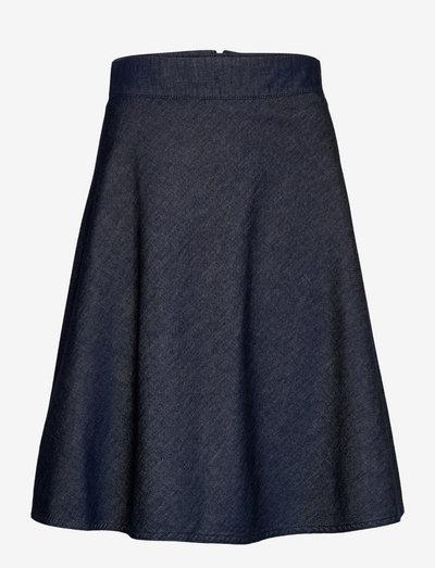 Fall Indigo Stelly - midi kjolar - unwashed