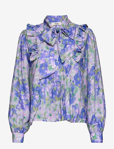 Recy Poly Bindie - langærmede bluser - multi amparo blue
