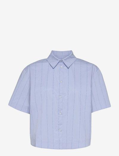 Logo Poplin Soby - denimskjorter - multi brunnera blue