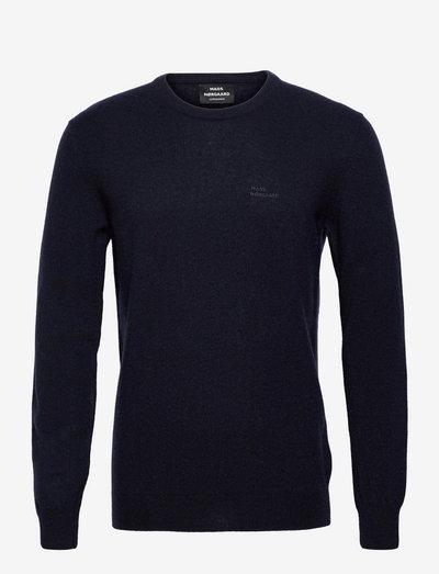 Eco Wool Karsten - tricots basiques - sky captain