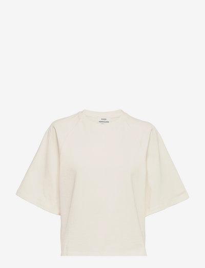 Heavy Single Trista - t-shirts - snow white