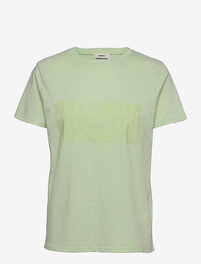 Single Organic Trenda - t-shirts - pastel green