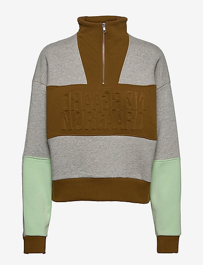 Organic Sweat Tally - sweatshirts & hættetrøjer - multi medium grey melange