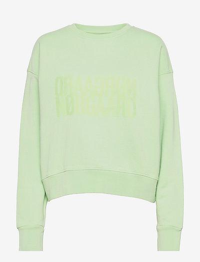 Organic Sweat Tilvina - sweatshirts & hættetrøjer - pastel green