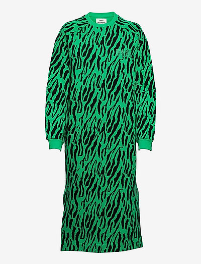 Organic Sweat Donna - summer dresses - multi deep mint