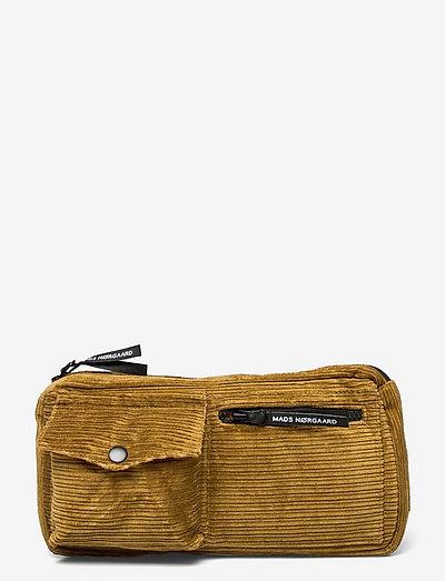 Uneven Cord Carni - bæltetasker - breen