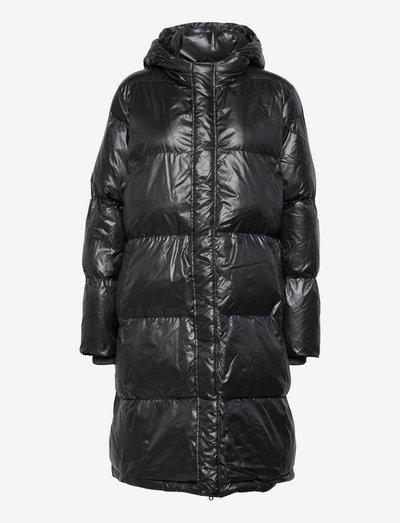 Shiny Poly Jolene - winter coats - black