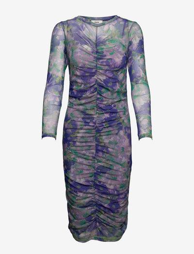 Jersey Mesh Dimma - robes d'été - multi amparo blue