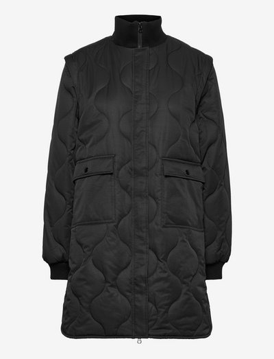 Duvet Dream Josephine - quilted jackets - black